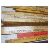 """Advertising rulers, 36"""" to 48"""" incl..."""