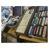 Vintage 8-track tapes, mostly count...
