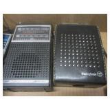 Transistor radios: Ronco, Realistic...