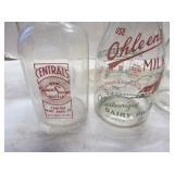 Milk bottles: Central