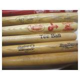 """Baseball bats: 28.5"""" to 33.5"""", teeb..."""