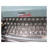 Office: Olivetti portable typewrite...