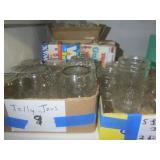 Jelly jars...