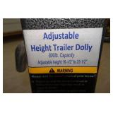 Adjustable Height Trailer Dolly
