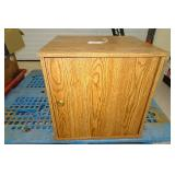 Cabinet with Sentry 1200 Combination Lock Safe