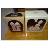 2 Precious Moments Figures in Boxes