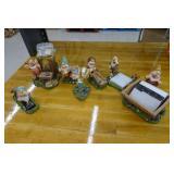 Walt Disney 7 Dwarfs Desk Set