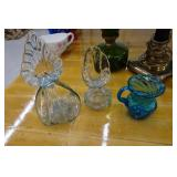 Vintage and Collectible Glassware - Hanging Light, Silhouettes