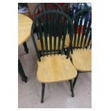 Kitchen Table with Leaf and 5 Chairs
