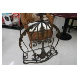 Furniture and Miscellaneous - Tables, TV, Wrought Iron, Chairs