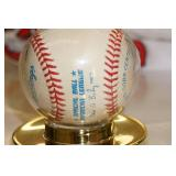 Pat Meares Signed Baseball