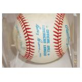 Unknown Signed Baseball - Likely Minnesota Twin