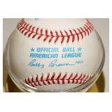 Gary Gaetti Signed Baseball