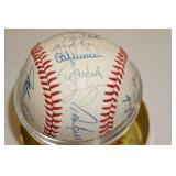 Minnesota Twins Signed Baseball - Puckett, Gaetti, Viola