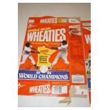 2 Twins Wheaties Boxes - Kent Hrbek Signed Ball