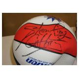 Harlem Globetrotters Signed Ball and Commemorative