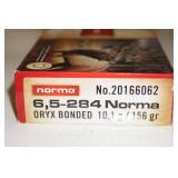 20 Norma 6.5-284 Norma 156 Gr Large Game Ammo