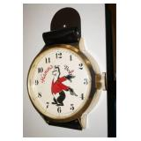Vintage Hamms Beer Wristwatch Clock