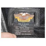 Harley Davidson Leather Riding Vest - Large