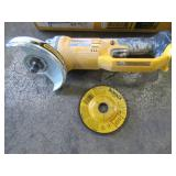 Dewalt 20-Volt Max Lithium-Ion 4-1/2 in. Cordless Grinder (Tool-Only), DCG412B - Used - Missing Handle.