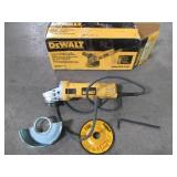 Dewalt 7 Amp 4-1/2 in. Small Angle Grinder with 1-Touch Guard, DWE4011 - Used - Missing Handle.