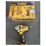 DEWALT 20-Volt MAX XR Lithium-Ion Cordless Brushless 1/2 in. Impact Wrench with Detent Pin Anvil (Tool-Only), DCF894 - Used.
