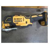 DEWALT ATOMIC 20-Volt MAX Cordless Brushless Oscillating Multi-Tool (Tool-Only), DCS354B. - Used.
