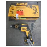 DEWALT 20-Volt Max XR Lithium-Ion Brushless Drywall Screw Gun (Tool-Only), DCF620B - Used.