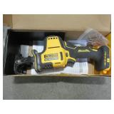 DEWALT ATOMIC 20-Volt MAX Cordless Brushless Compact Reciprocating Saw (Tool-Only), DCS369 - Used.