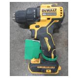 DEWALT ATOMIC 20-Volt MAX Cordless Brushless Compact 1/2 in. Drill/Driver (Tool-Only), DCD708B - USED.