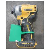 DEWALT ATOMIC 20-Volt MAX Brushless Cordless Compact Impact Driver (Tool-Only), DCF809B - Used.