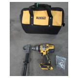 DEWALT 20-Volt MAX Brushless Cordless 1/2 in. Hammer Drill/Driver with FLEXVOLT ADVANTAGE (Tool & Bag Only)