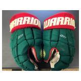 Marco Scandella MN Wild game used signed hockey gloves