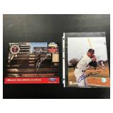 Tony Oliva Autograph 8x10 and signed Callender
