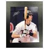 Joe Mauer Autographed 8x10 photo