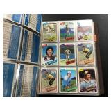 Large Album full of Football/Baseball cards ( see photos for details )