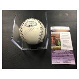 2008 All star joe mauer Autograph Ball ( JSA Authentication )