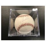 Nick Pumto Autographed Baseball