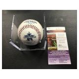 2010 Autographed All Star Baseball Joe Mauer ( JSA Authentication )