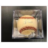 Yogi Berra Autographed Baseball ( JSA Authentication )