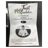 Joe Mauer Autographed Baseball