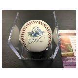 Joe Mauer Autographed  2009 All Star Ball ( JSA Authentication )