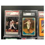 Lot of 8 Graded Cards ( see photos for details )