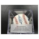 Ron Gardenhire Autographed Baseball