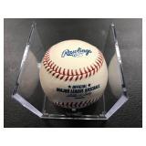Justin Morneau Autographed Baseball
