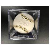 Joe Mauer Autographed All Star Baseball ( PSA Authentication )