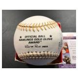 Frank Viola Autographed Gold Glove Baseball  AWESOME INSCRIPTION ( NOT A1 ) ( JSA Authentication )