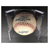 Scott Diamond Autographed Baseball