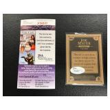 Justin Morneu Autographed Card ( JSA Authentication )