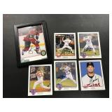 Lot of 5 Autographed Photos, MN Wild and MN Twins ( see photos for details )